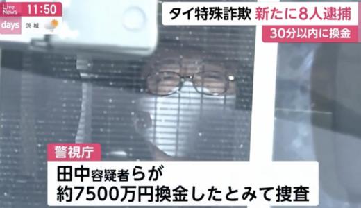 田中巌らの顔画像が特定 広告会社はどこ?詐欺で8人逮捕!
