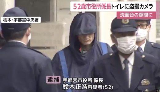 鈴木正浩の顔画像 動機やfacebookも!宇都宮市役所が盗撮で逮捕!