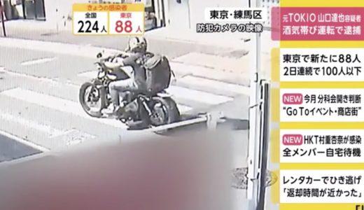 山口達也のバイク・ハーレーダビッドソンの車種はスポーツスターか?
